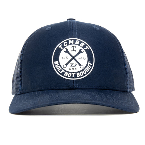 TCMBST Built Not Bought Hat - Navy Blue