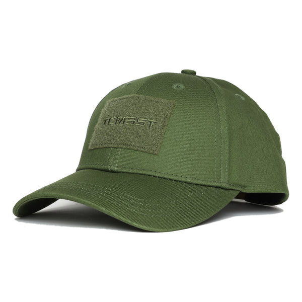 Velcro Trucker Hat - Military Green
