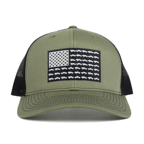 Tacoma USA Spec Ops Hat - Heather Green/black