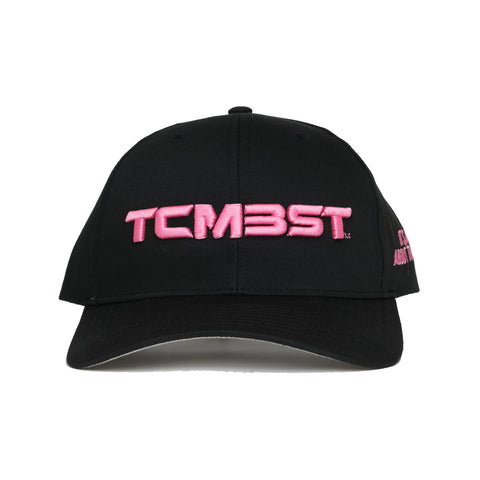 It's All About The Taco Trucker Hat - Black/Pink