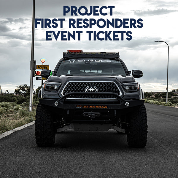 Project First Responders Event Tickets / Person
