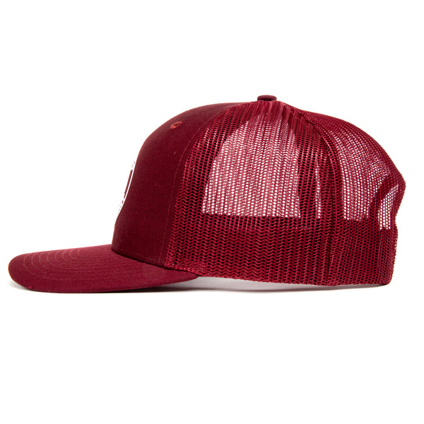 TCMBST Built Not Bought Hat - Cardinal