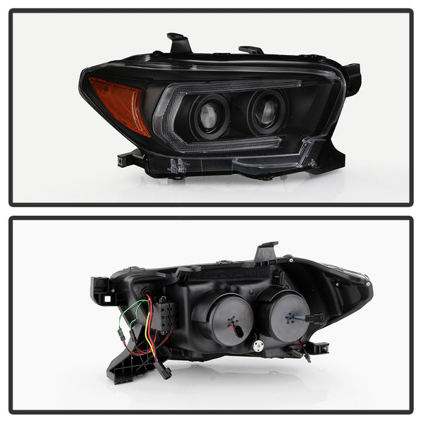 16+ Projector Headlights W/ LED DRL & Sequential Turn Signal