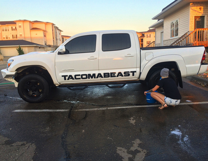 TACOMABEAST Side Decal (Comes in Pairs)
