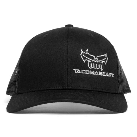 TacomaBeast Side Skull Trucker Hat - Black