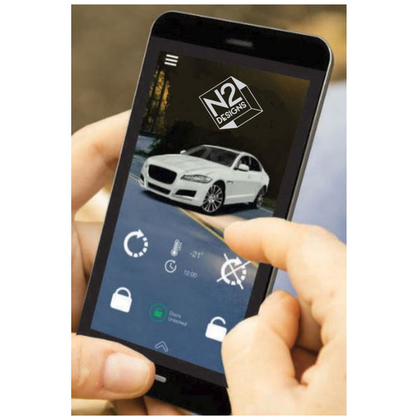 Add-On Smart Phone Module for Unlimited Range Vehicle Control (USA) - 4G Cellular