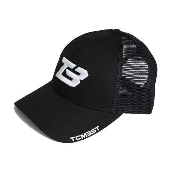 TB Emblem Hat - Black/White