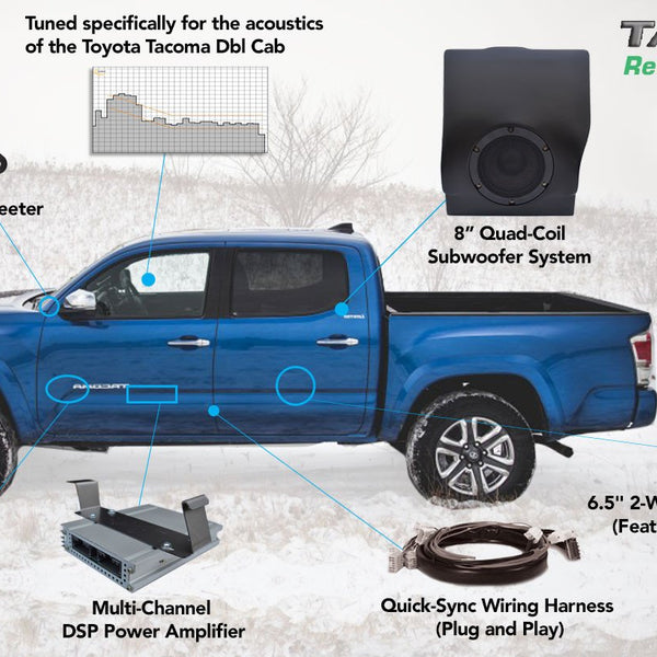 2016 - Present | Reference 500 | Double Cab Sound System