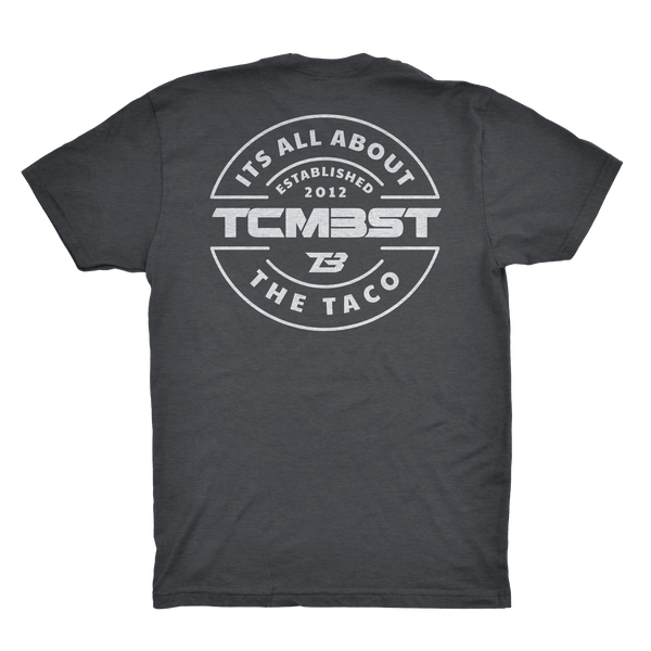 TCMBST Pocket Tee - Charcoal