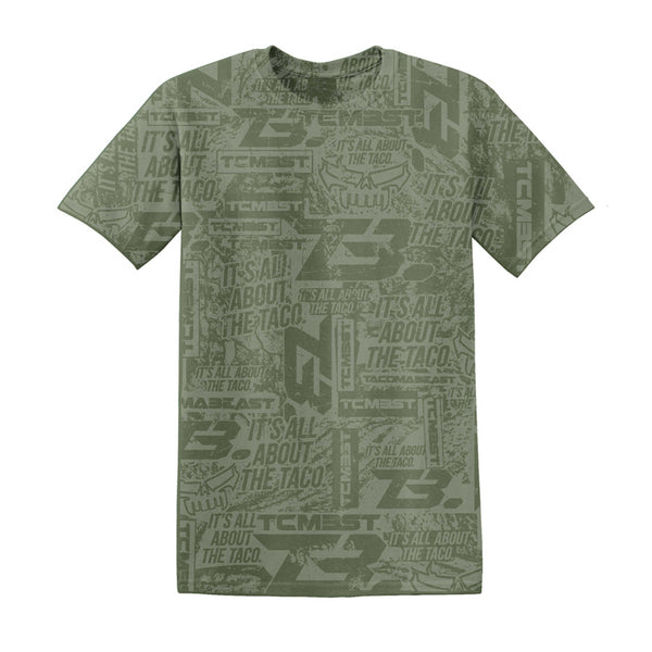 TCMBST Adrenalin T-Shirt - Military Green