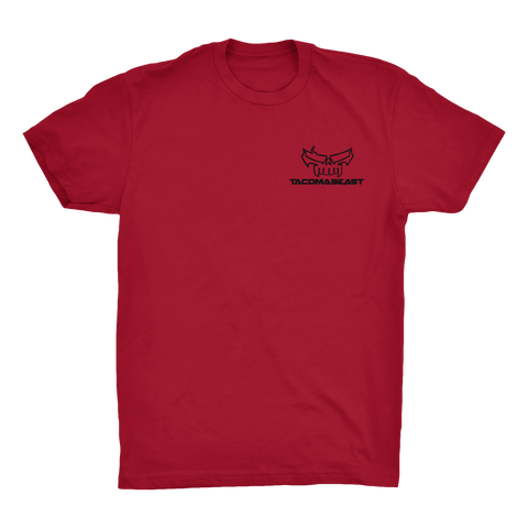 TACOMABEAST Skull Pocket Tee - Red