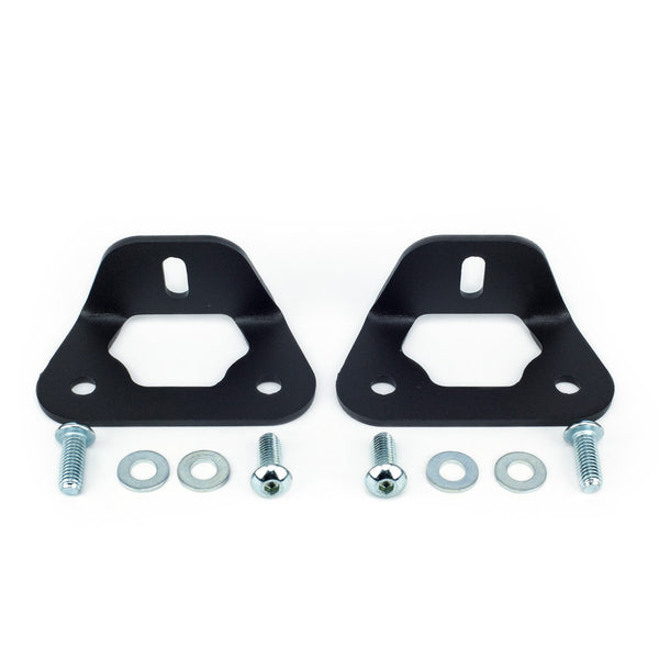 Bed Rail LED POD Mounting Brackets