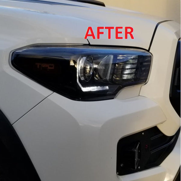 Headlight Trim Plates