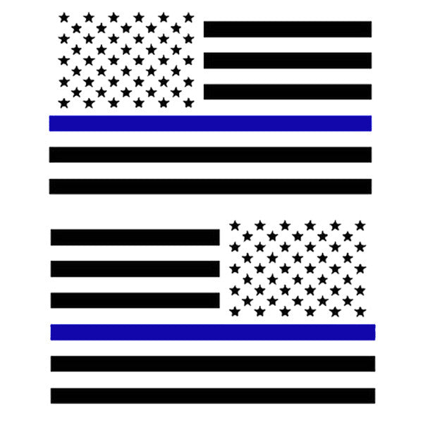 Tactical Military USA Flag Decal (Come in Pairs)