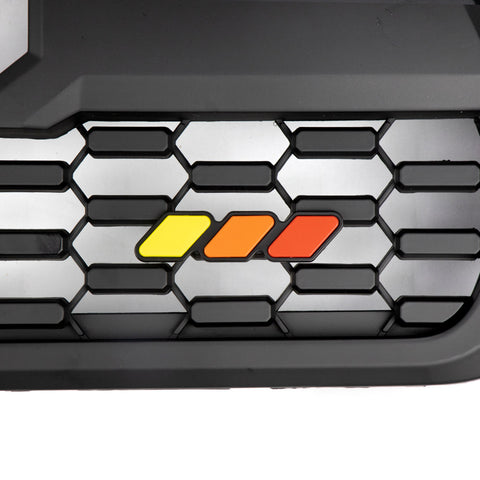 Tri-Color Grille Badge Emblem