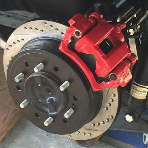 Rear Disc Conversion Without Parking Brake