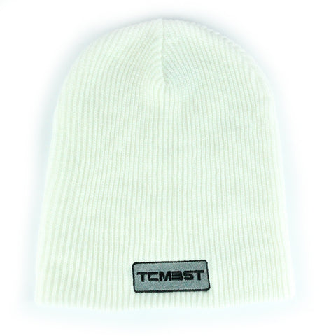 TCMBST Patch Beanie - White