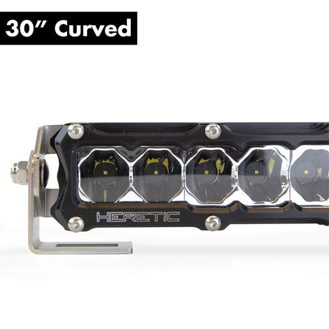 "Heretic 6 Series Light Bar - 30"" Curved"
