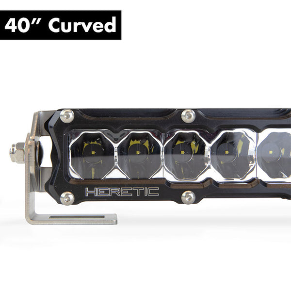 "Heretic 6 Series Light Bar - 40"" Curved"