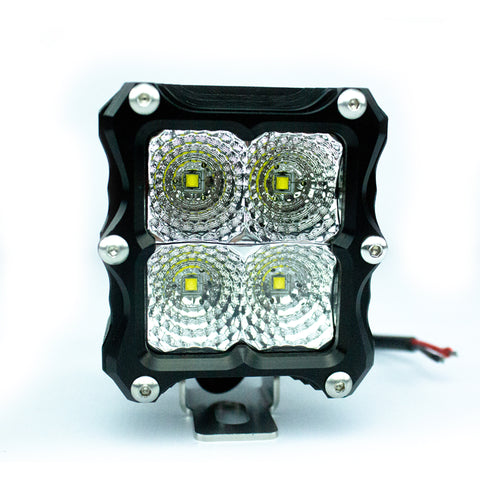 Heretic Quattro LED Light (Billet)