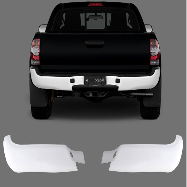 FOR Toyota 2005-2015 Tacoma Rear Step Bumper Top Center Pad Textured Black