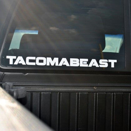 TACOMABEAST Decal