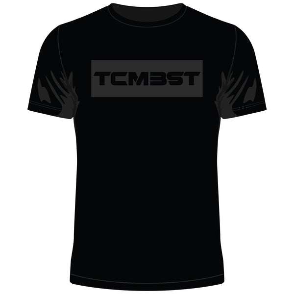 TB TCMBST T-Shirt Black on Black [NEW!]
