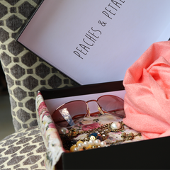 Peaches & Petals Monthly Box Subscription