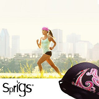 Sprigs Lightweight Beanies With Ponytail Pull-Through - Great For Exercise