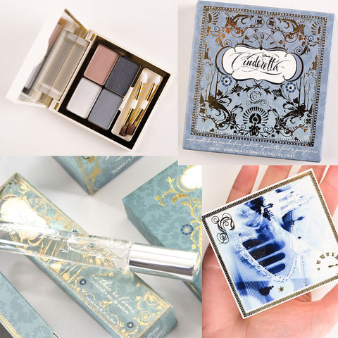 Sephora for Disney's Cinderella Midnight Hour Eye Shadow Palette and So This Is Love Perfume Set - SHIPS FREE!