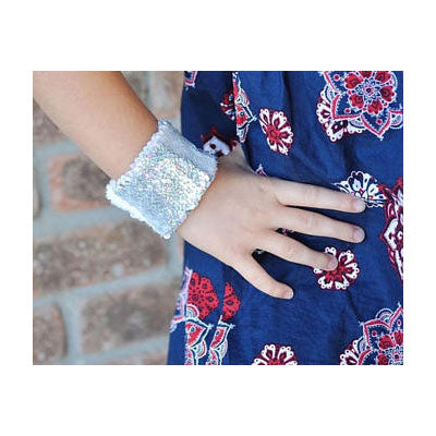 Mermaid Sequin Cuff - SHIPS FREE!