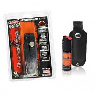 EXCLUSIVE BOX ADD-ON-Dragon Fire Pepper Spray- Blasts Up To 10 ft