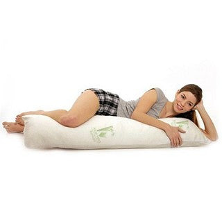 EXCLUSIVE BOX ADD-ON Aloe & Bamboo Memory Foam Body Pillow