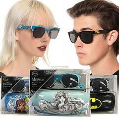 EXCLUSIVE BOX ADD-ON Officially Licensed Sunglasses and Case Gift Sets - Disney's The Little Mermaid, Frozen and DC Comics Available