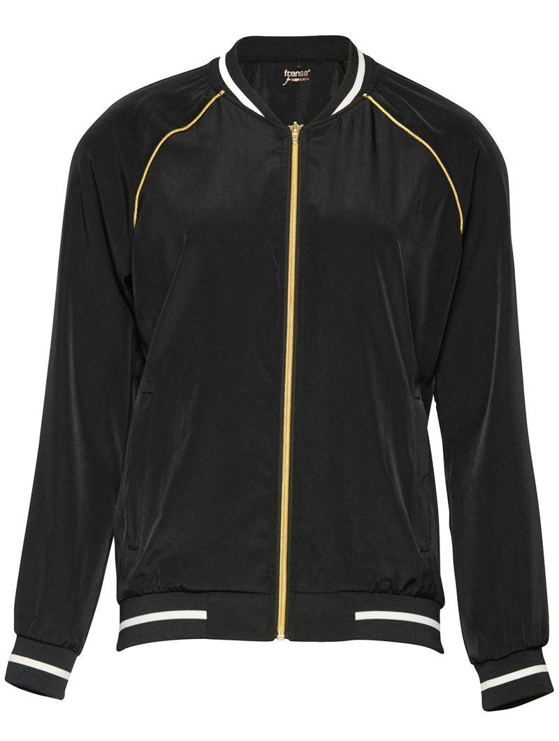 Velour Black Sports Jacket