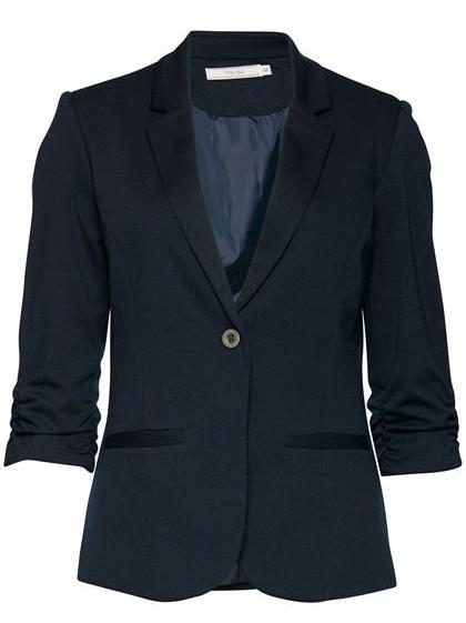 Tailored Blazer with 3/4 Sleeves
