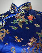 Vintage Handmade Dragon Detail Chinese Top