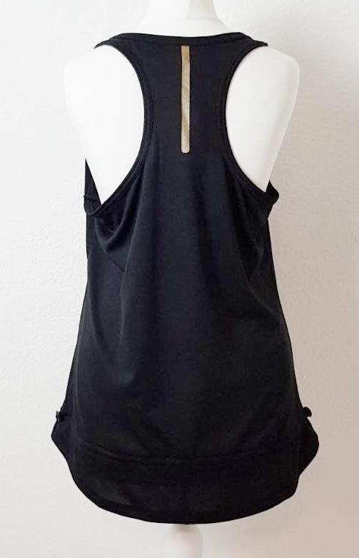 Sports Vest Top In Black