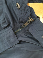 Navy Raincoat Jacket