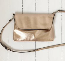 Metallic Cross Over Bag/Clutch