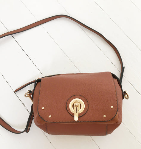 Brown Shoulder Bag by Bestini