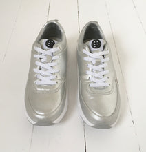 Silver Running Trainers by FRANSA