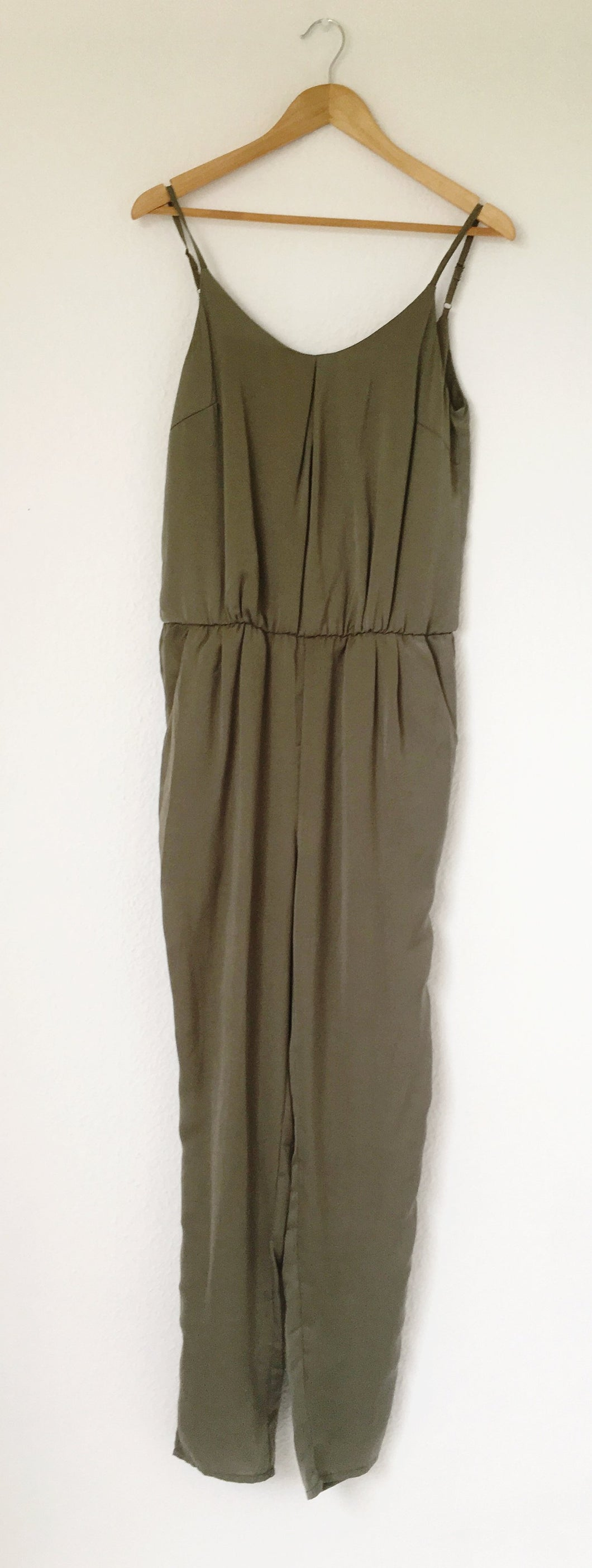 Silky Green Jumpsuit by FRANSA