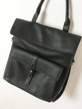 Black Rucksack Bag by Rosetti