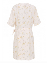 Wrap Dress in Cream by FRNCH