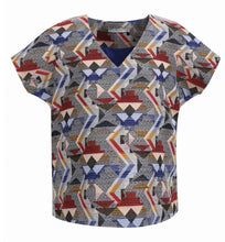 Woven Aztec Pattern Top by FRNCH