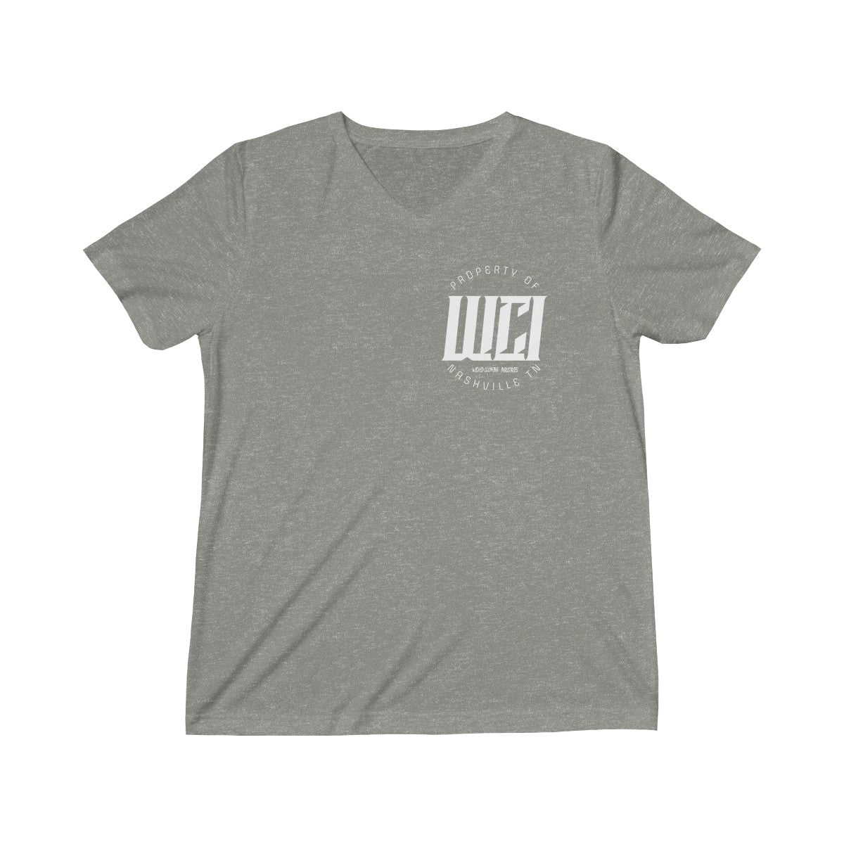 Proptery Of WCI/ Triblend Short Sleeve V-Neck Tee
