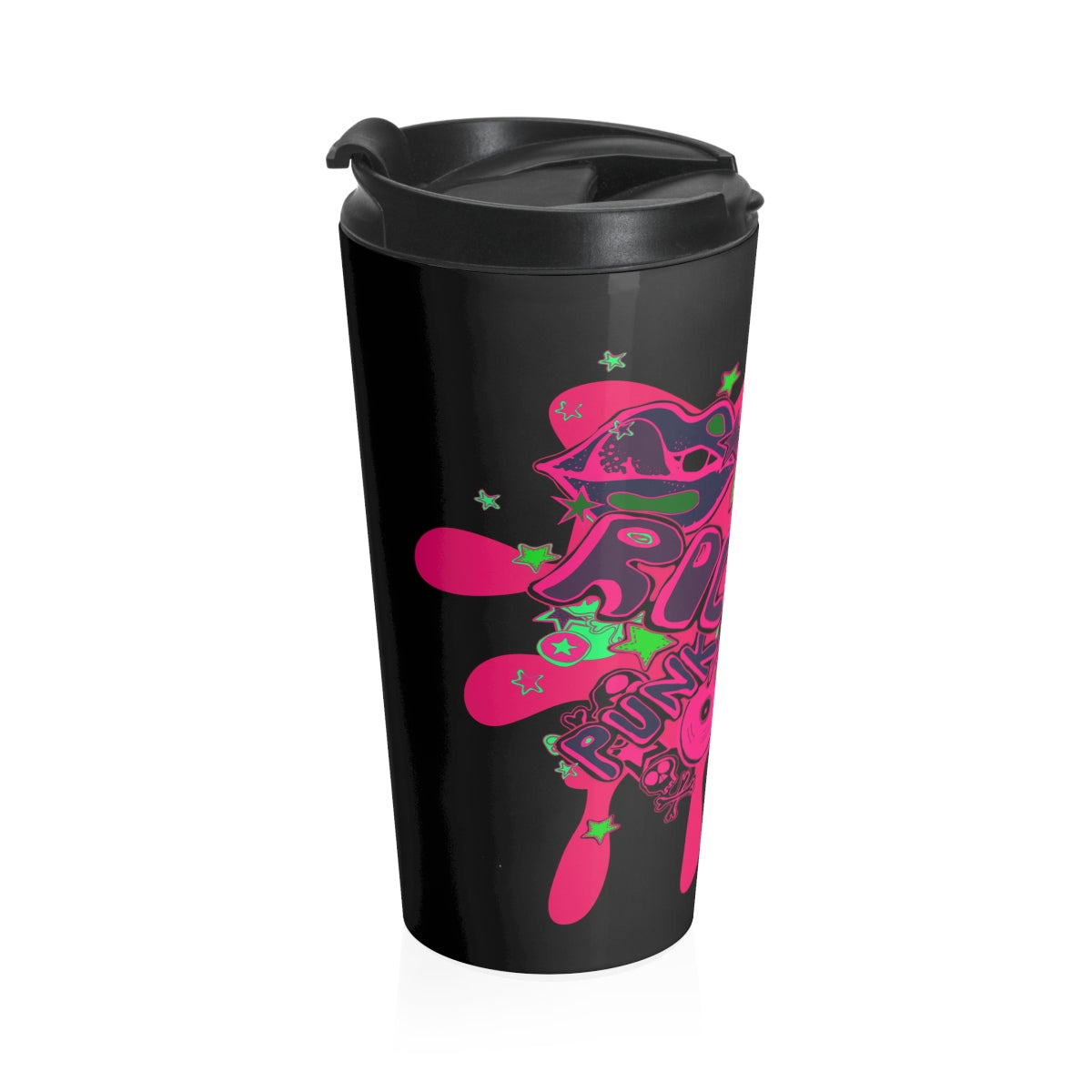 Punk Rock/Stainless Steel Travel Mug