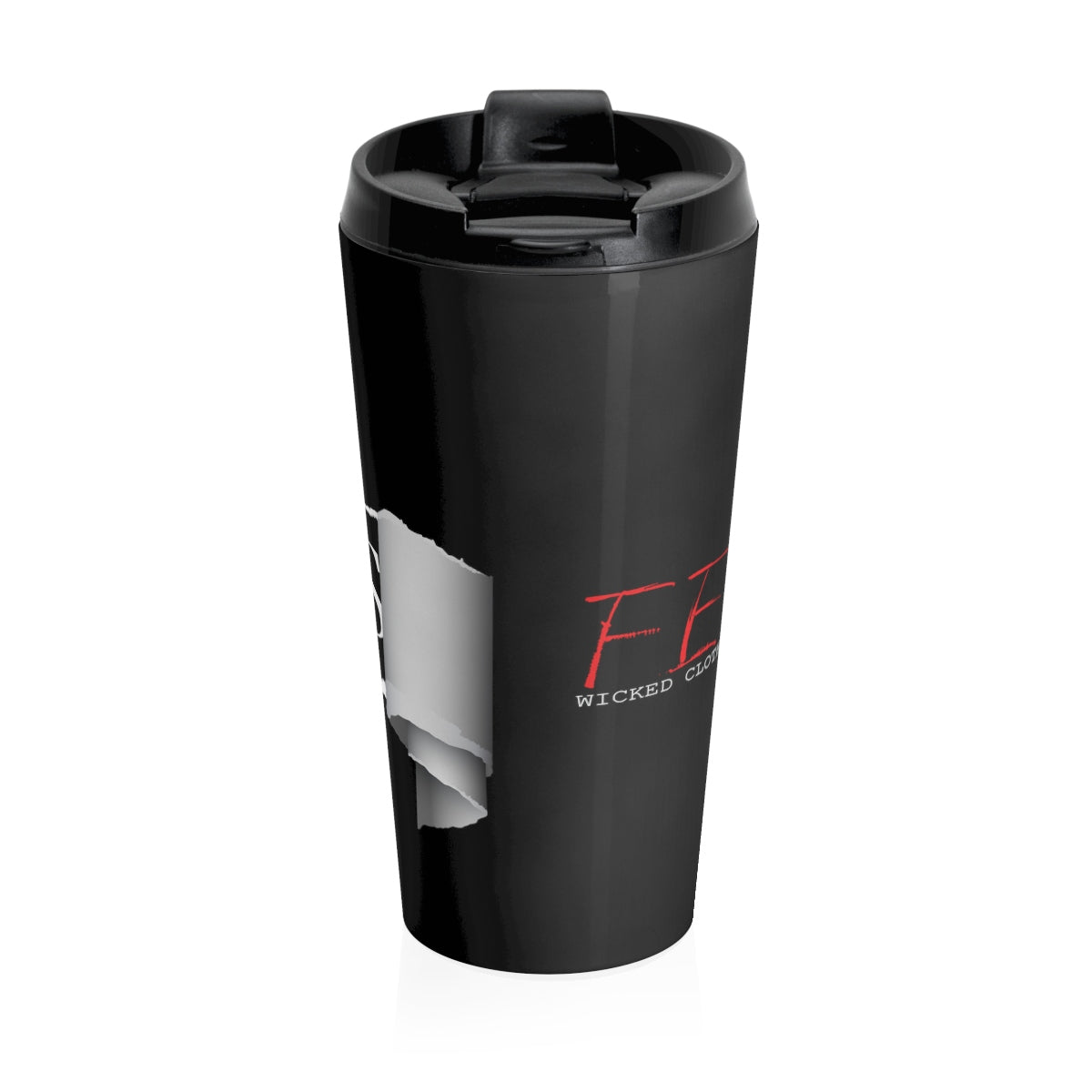 Fearless Ripped/Stainless Steel Travel Mug