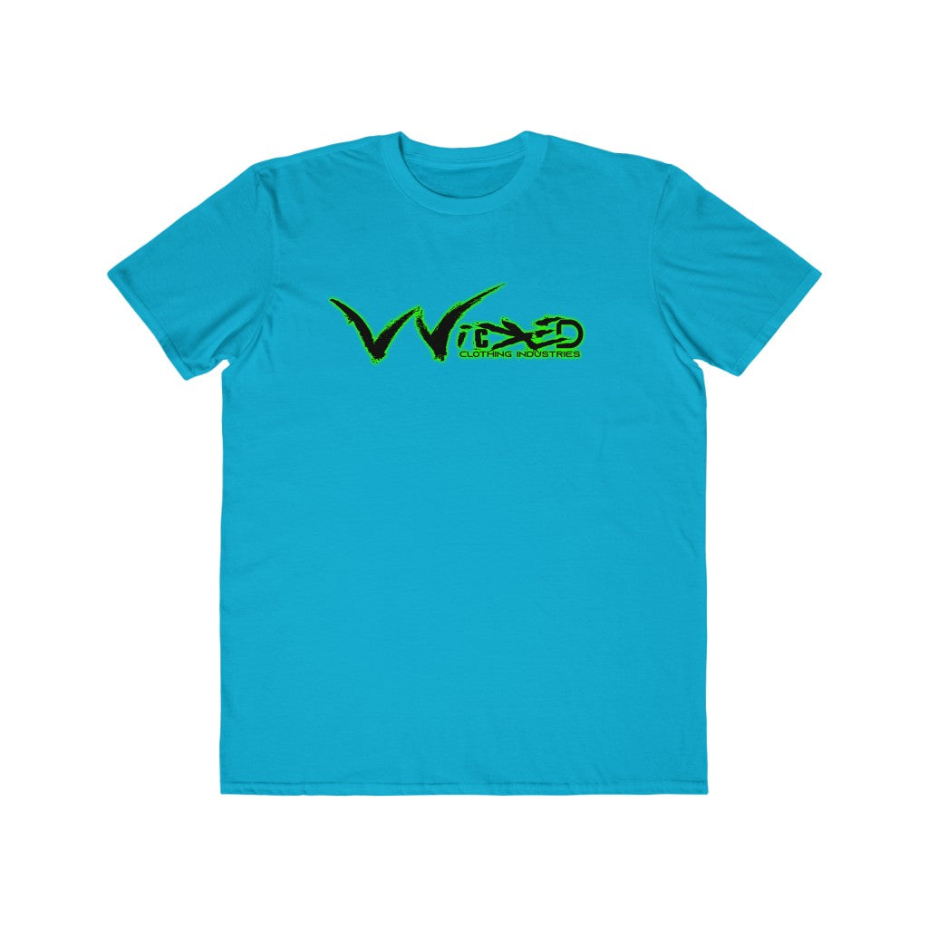 Men's Lightweight Fashion Tee( Wicked Grind Neon Green/ Black